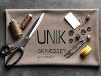 Unik Skrædderi Logo